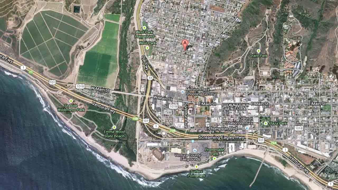 Ventura Police received a report of a fight on the 100 block of West Harrison Avenue at 7:45 p.m. Sunday, October 7, 2013.