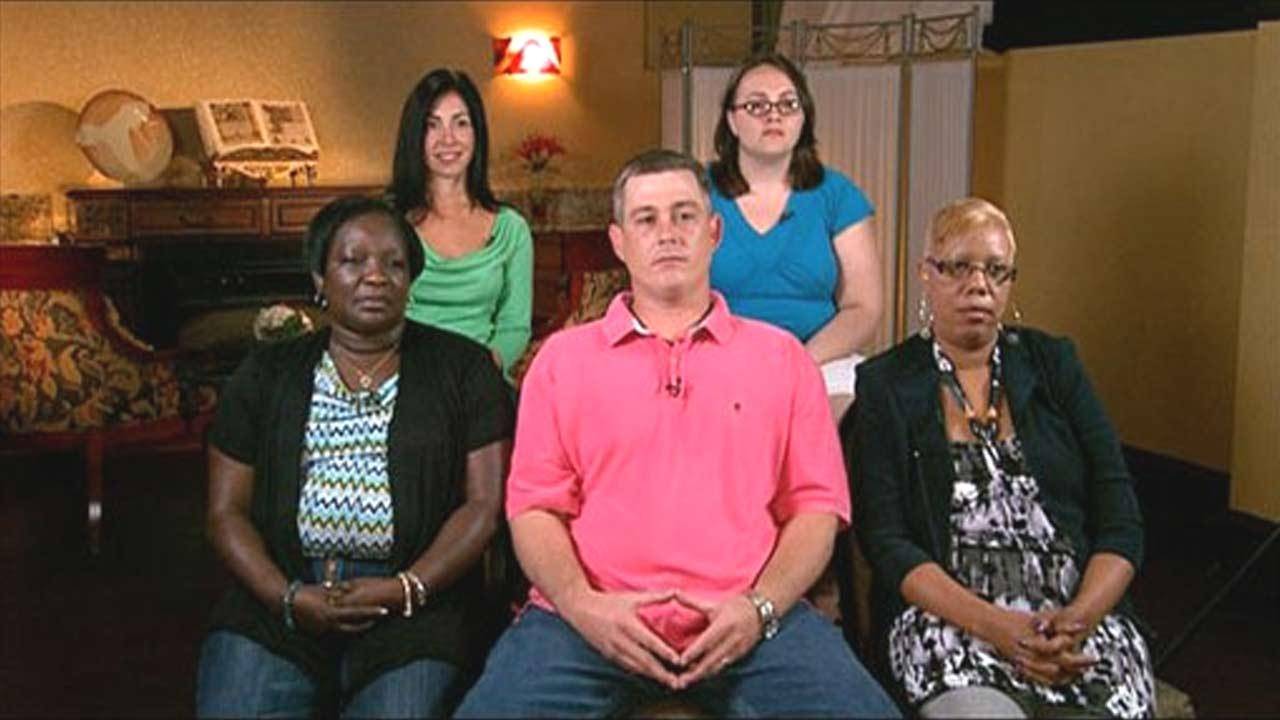 Some of the jurors from the John Edwards trial appear on Good Morning America on Friday, June 1, 2012.