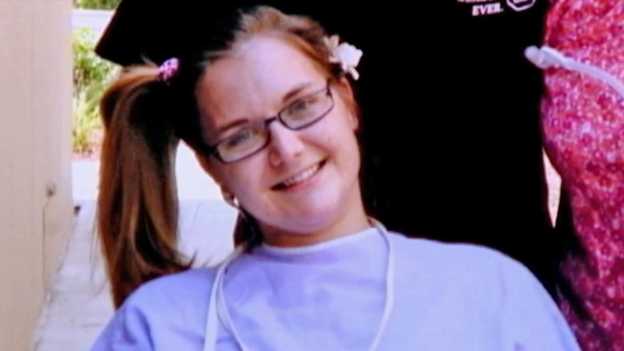 Aimee Copeland, the Georgia woman who was infected with a rare, flesh-eating disease, is seen in this undated file photo.