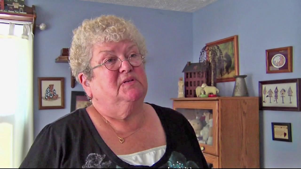 Karen Klein appears in this file photo. Klein is a school bus montior who was bullied by a group of middle school students. A video of the incident was posted on YouTube.