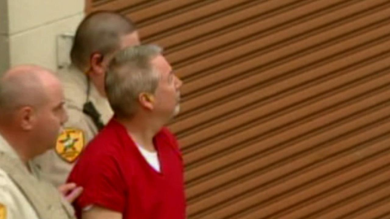 Drew Peterson is seen leaving the Will County Courthouse in Joliet, Ill., in this undated file photo.