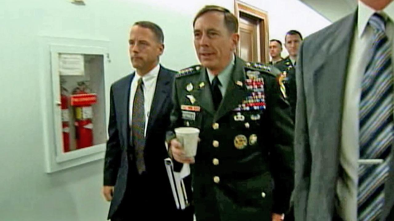 Former CIA Director David Petraeus is shown in this undated file photo.