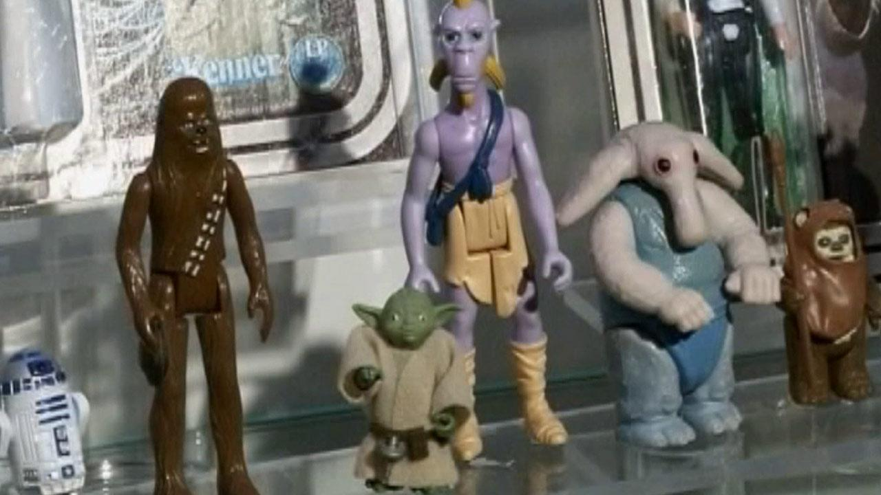 Star Wars figurines and dominoes were inducted into the 2012 Toy Hall of Fame Thursday, Nov. 15, 2012.
