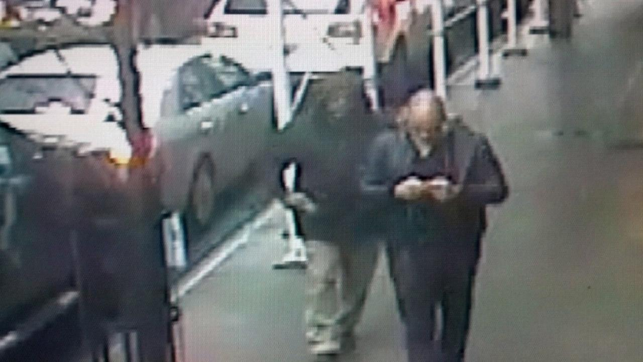 This surveillance video image shows the suspect moments before he killed Brandon Lincoln Woodard in Midtown Manhattan on Monday, Dec. 10, 2012.