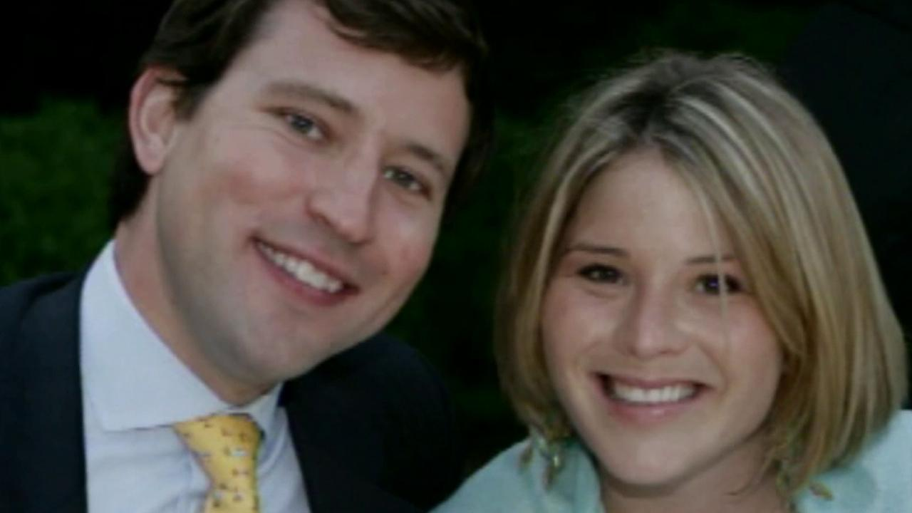 Jenna Bush Hager and her husband Henry are seen in this undated file photo.