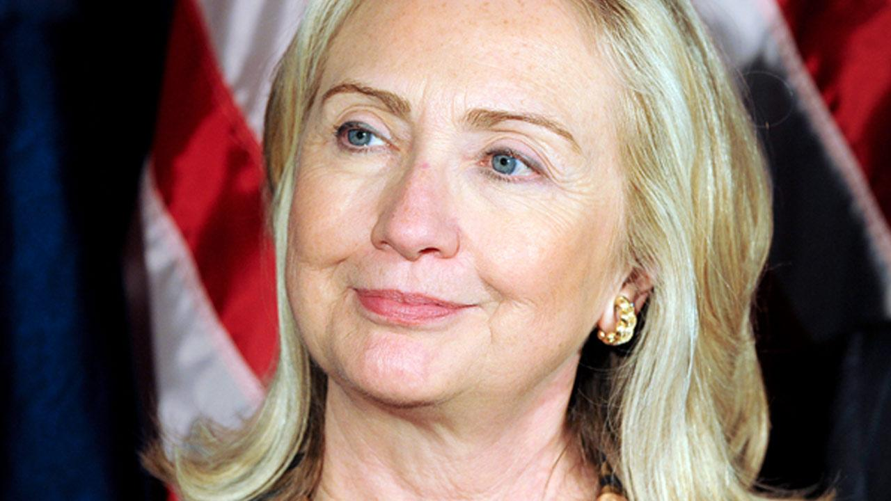 Hillary Rodham Clinton is shown in this undated file photo.