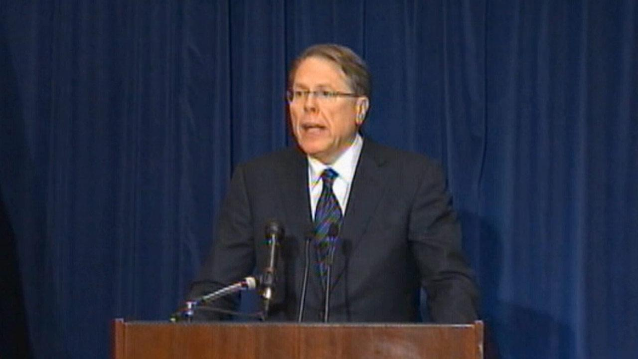 File photo of Wayne LaPierre, CEO of the National Rifle Association.