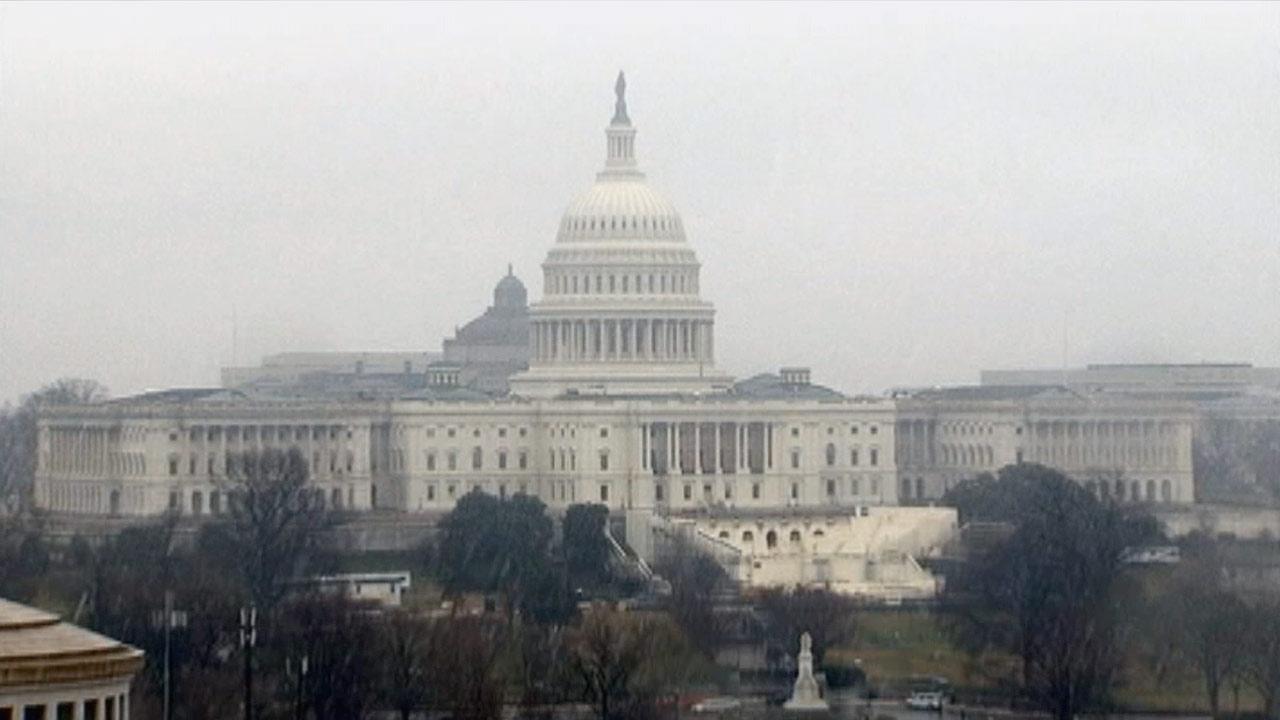 The United States Capitol on Saturday, Dec. 29, 2012.