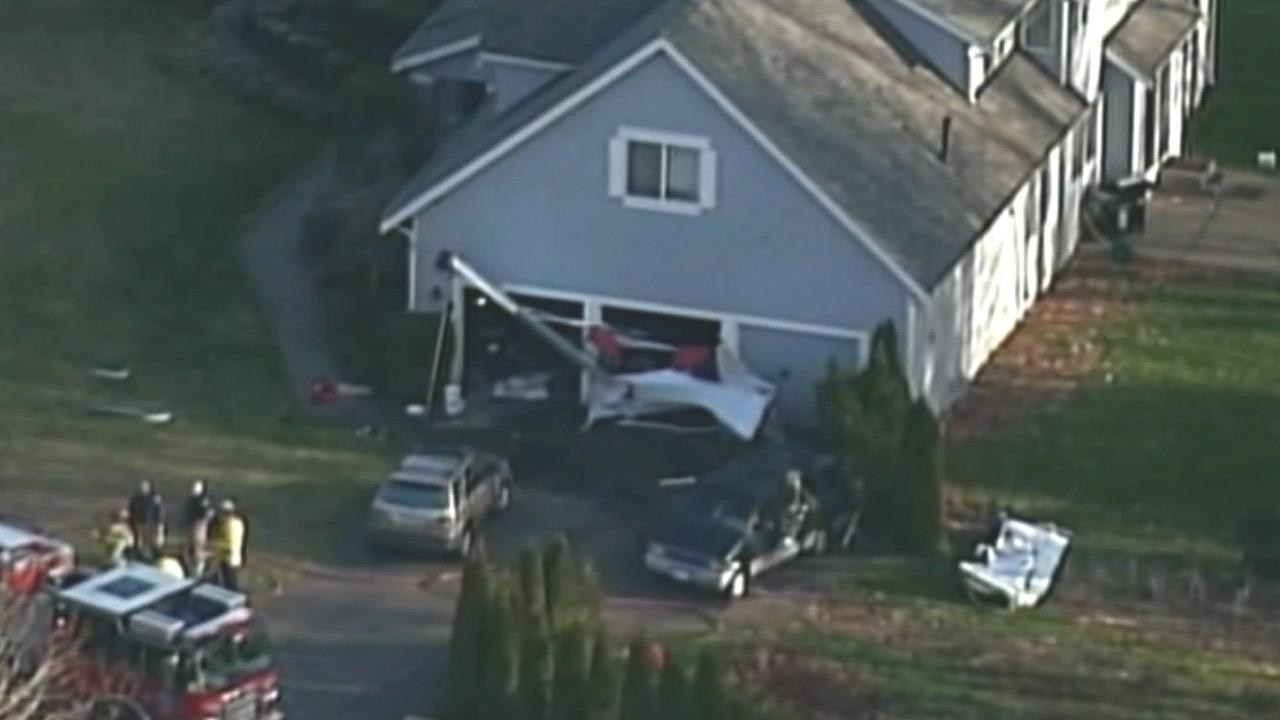 An investigation is underway to determine what caused a small plane to crash into a house in Woodinville, Wash., located north of Seattle, on Saturday March 9, 2013.