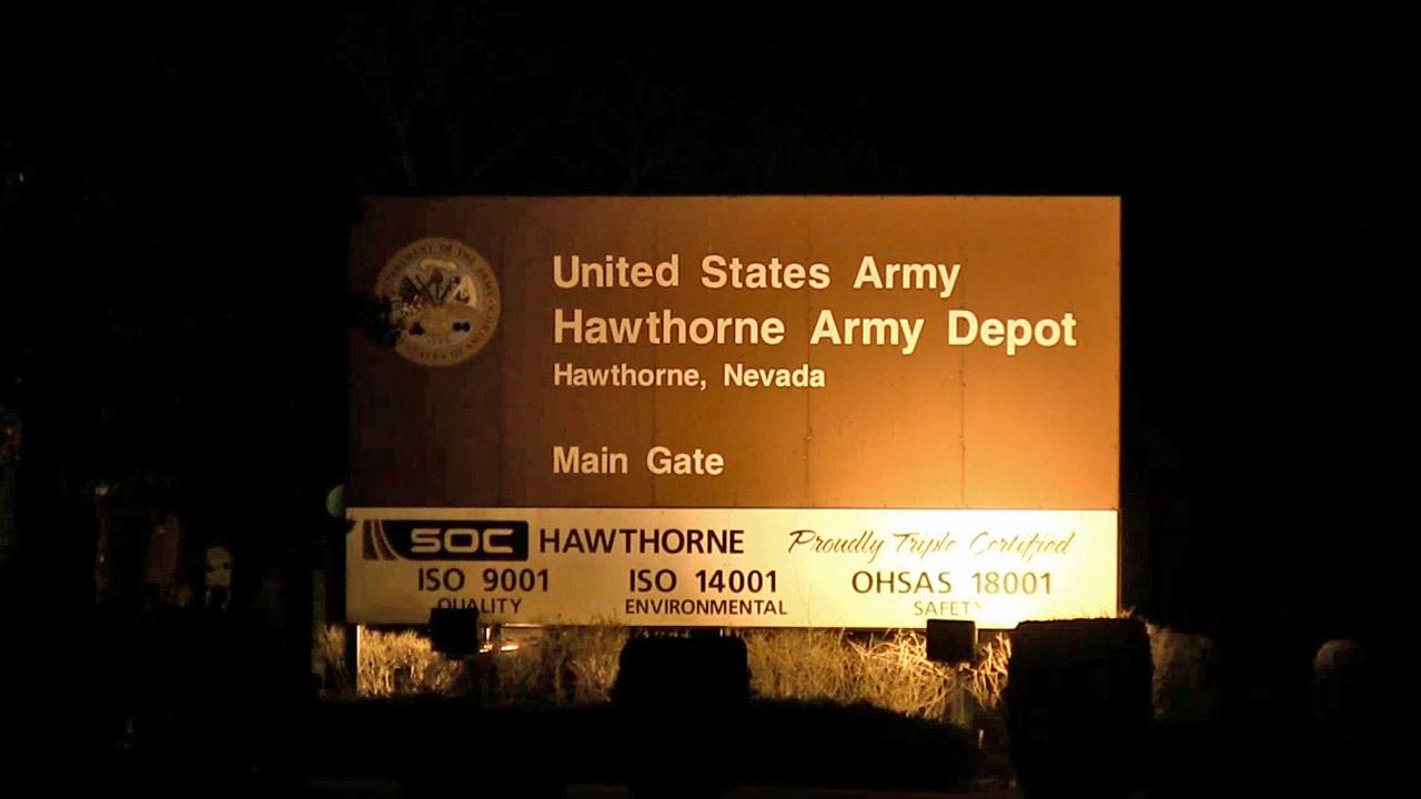 Seven Marines from North Carolina were killed and a half-dozen injured in a training accident at the Hawthorne Army Depot, Nev. on Monday, March 18, 2013.