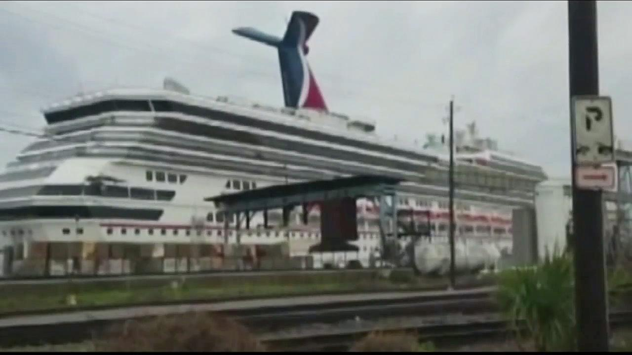 Carnival Cruise Lines MS Carnival Triumph is shown in this undated file photo.