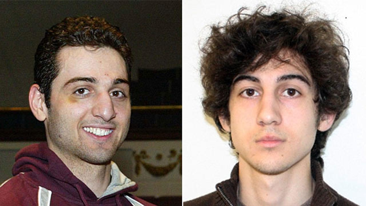 Tamerlan Tsarnaev, 26, and Dzhokhar Tsarnaev, 19, are shown in file photos. The two are suspects in the Boston Marathon bombings that killed three people and injured more than 180 others.