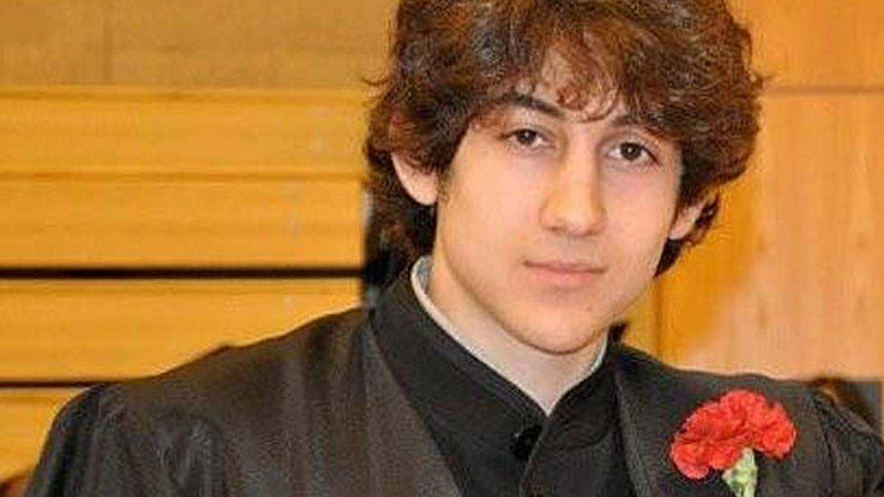 In this undated photo provided by Robin Young, Dzhokhar A. Tsarnaev poses for a photo after graduating from Cambridge Rindge and Latin High School.
