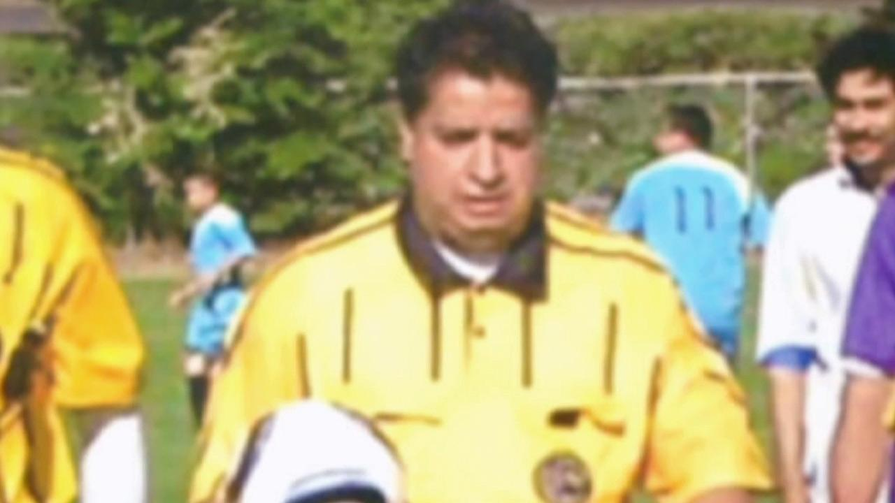 Ricardo Portillo, 46, of Salt Lake City, is seen in this undated file photo. Portillo, a soccer referee, died after being punched in the head by a player.
