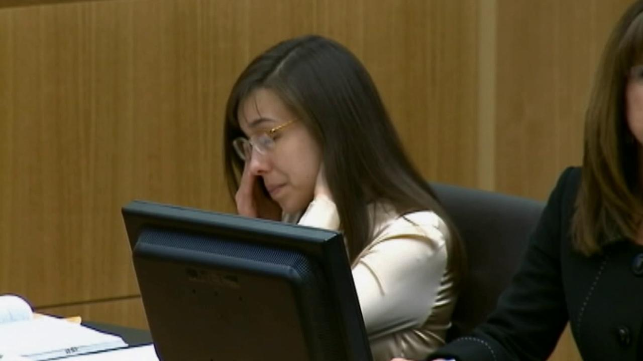 Jodi Arias is seen in court on Wednesday, May 15, 2013. Arias was convicted of first-degree murder in the gruesome 2008 killing of her one-time boyfriend, Jason Alexander, at his Arizona home.