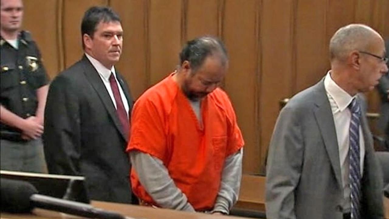 Ariel Castro appears in court in Cleveland, Ohio, June 11, 2013.