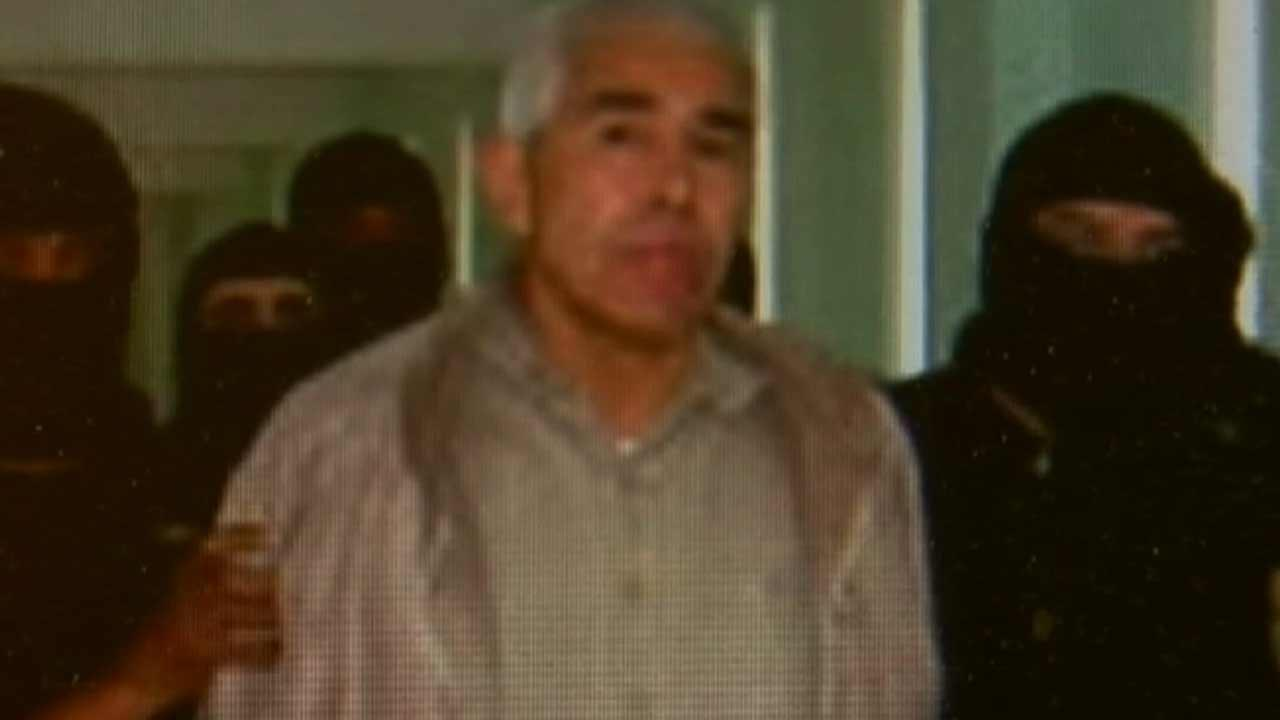 Rafael Caro Quintero was released from a Mexican prison Friday, August 9, 2013 after serving 28 years of a 40-year sentence for the death of Drug Enforcement Agent Administration agent Enrique Camarena.