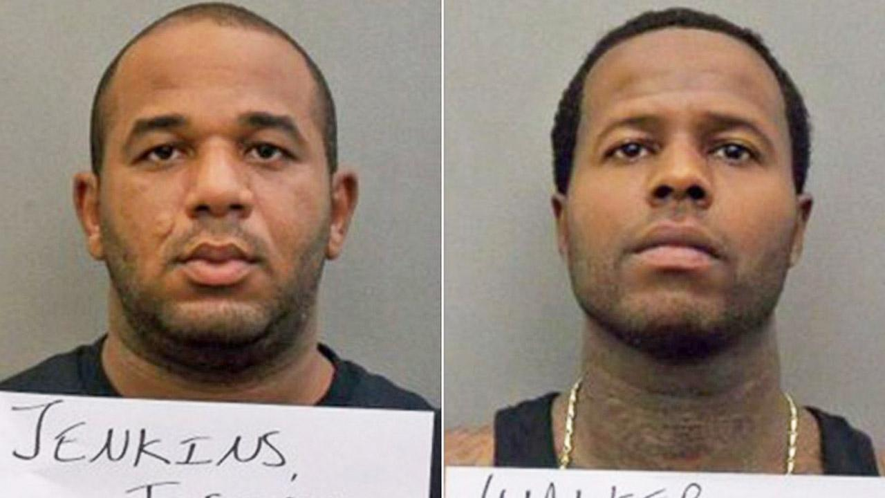 Joseph Jenkins, left, and Charles Walker, right, are shown in booking photos from the Orange County Sheriffs Office in Florida.