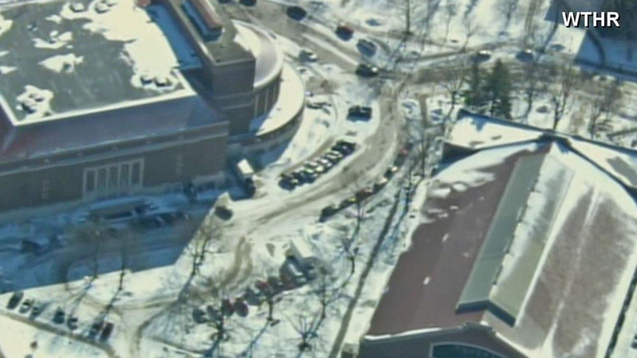 Purdue University is shown in this Tuesday, Jan. 21, 2014 aerial photo.