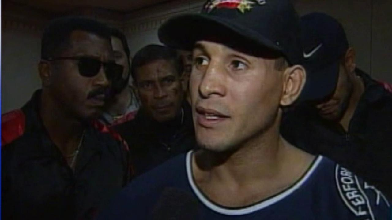Boxing champion Hector Macho Camacho is seen in this undated file photo.
