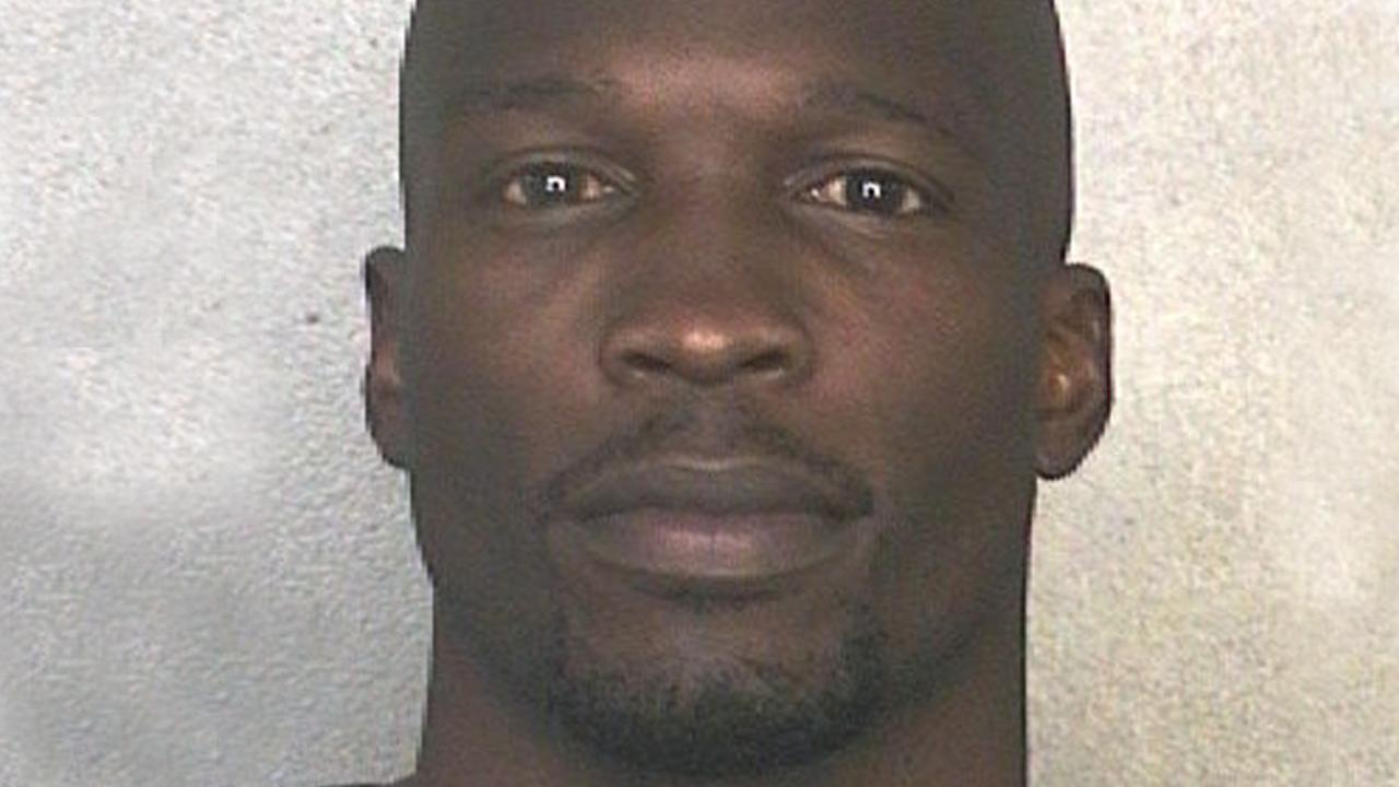 This arrest photo made available by the Broward County Sheriffs Office shows former NFL wide receiver Chad Johnson Monday, May 20, 2013.