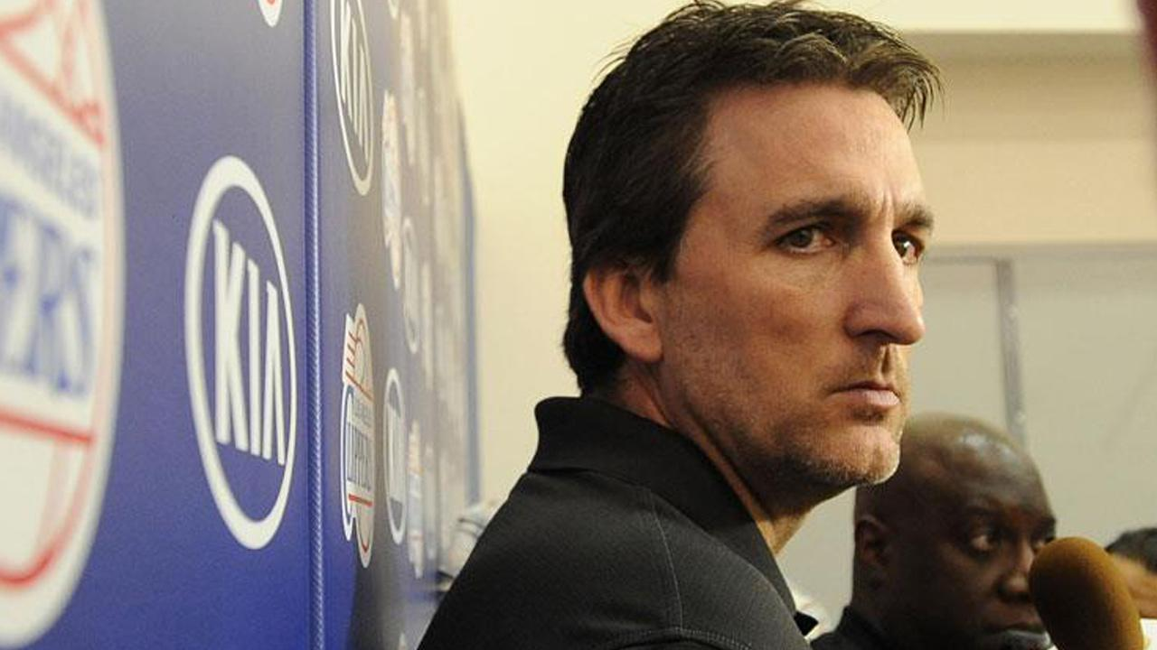 Vinny Del Negro is seen at a press conference regarding the 2012-13 Los Angeles Clippers season on Monday, May 6, 2013.