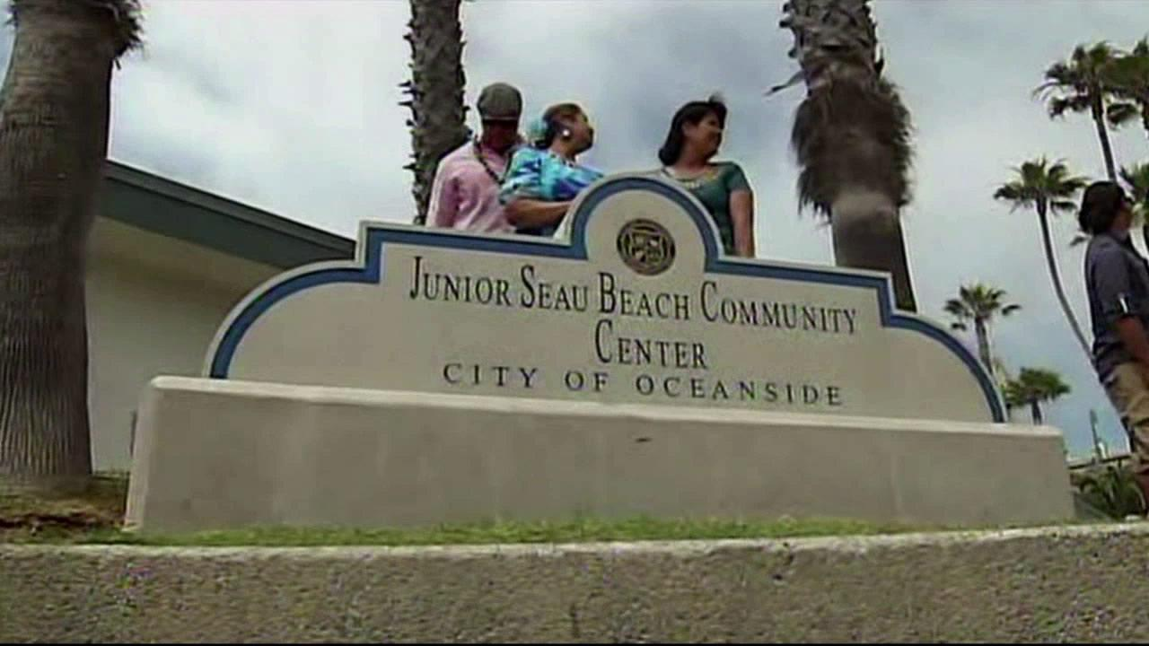 A landmark in Oceanside was given a new name in remembrance of former San Diego Chargers star Junior Seau on Saturday, July 7, 2012.