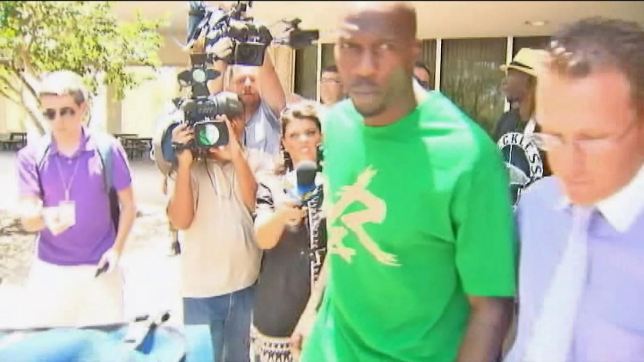 NFL receiver Chad Johnson is seen in this undated file photo.