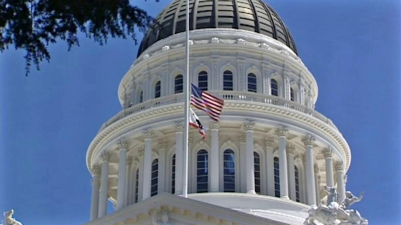 The California State Capitol is seen in this undated file photo.