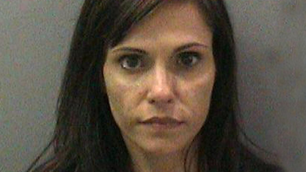 Nadia Lockyer, the estranged wife of California Treasurer Bill Lockyer, is seen in this photo released by the Orange County Sheriffs Department.