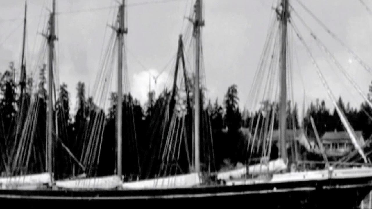 The George E. Billings is shown in this undated photo. Experts believe theyve found the ship from 70 years ago near Californias Channel Islands.