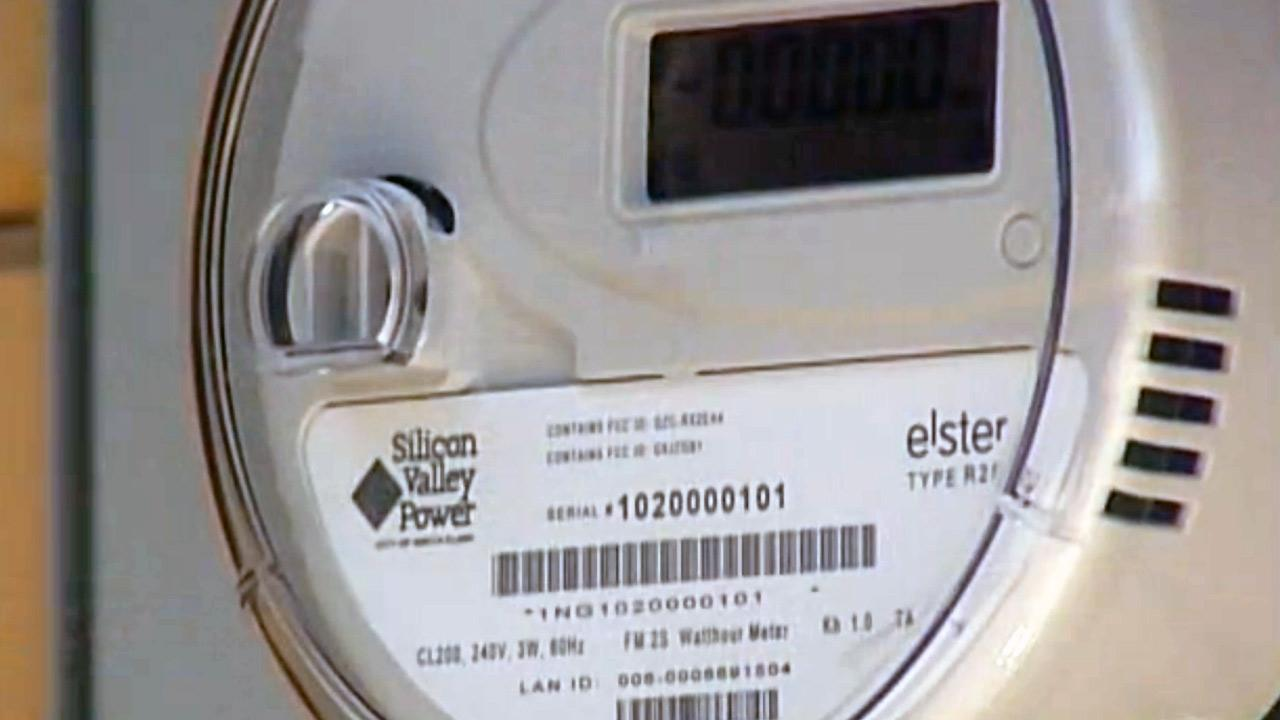 A new Silicon Valley Power electric meter with separate channel for free Wi-Fi.