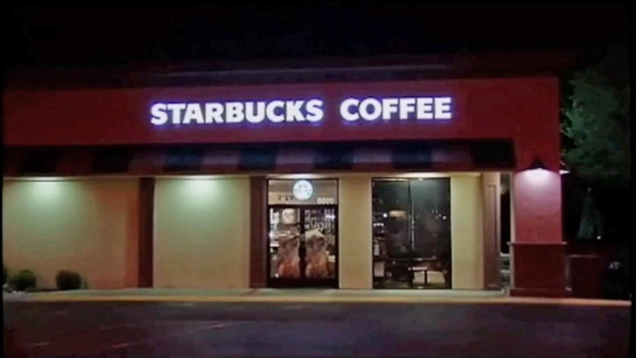 A woman was arrested Monday, April 29, 2013, on suspicion of leaving two tainted bottles of orange juice for customers to buy at a Starbucks coffee shop on the 6000 Block of Snell Avenue in San Jose.