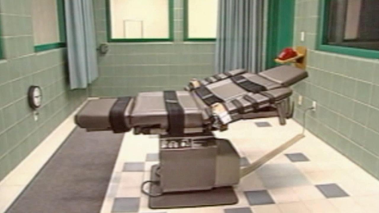 An execution chair is shown in this undated file photo.