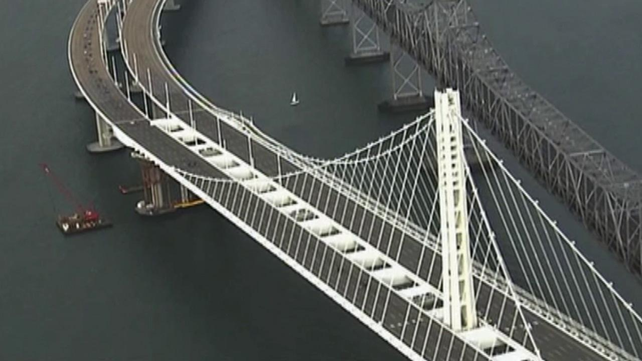 San Francisco-Oakland Bay Bridge is seen on Monday, Sept. 2, 2013.