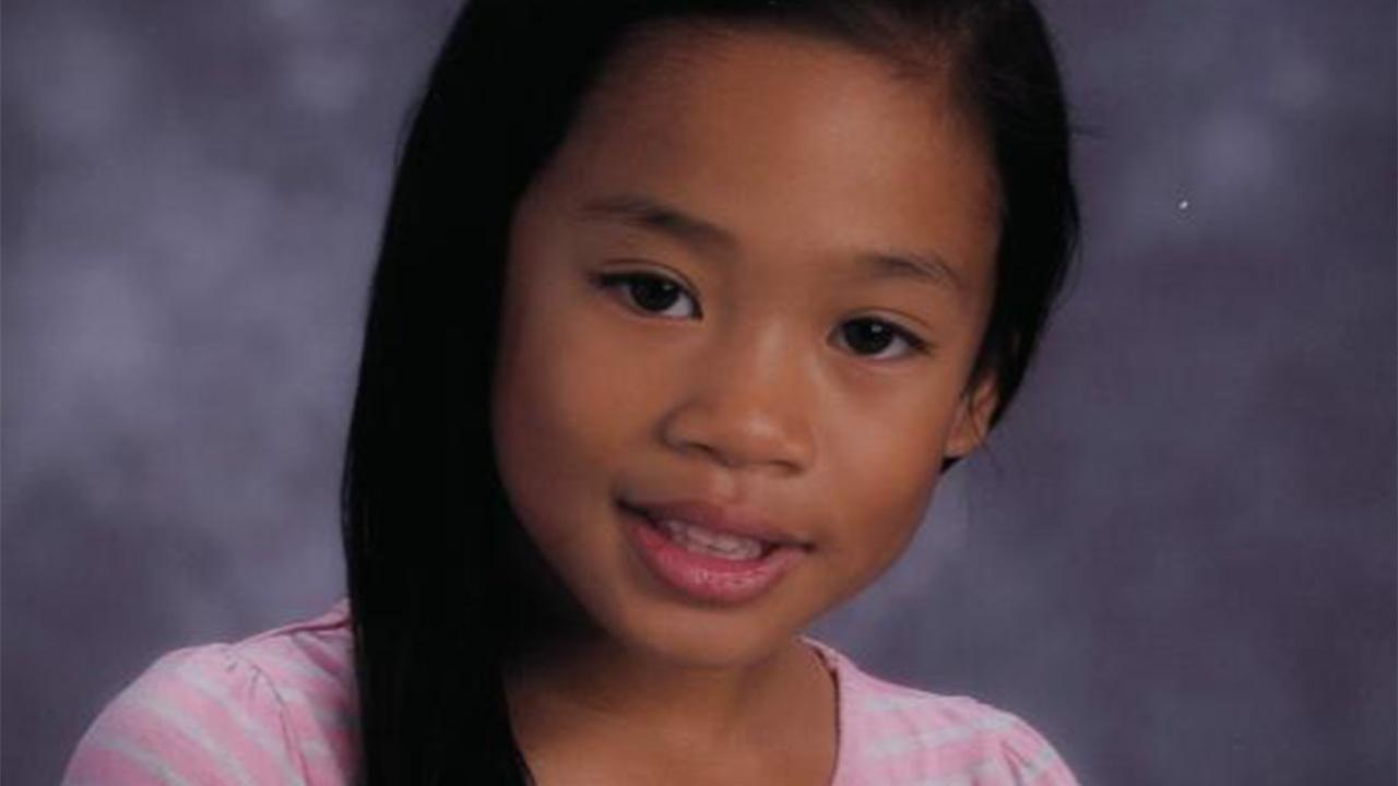 Natalie Calvo, 7, is seen in an undated photo.