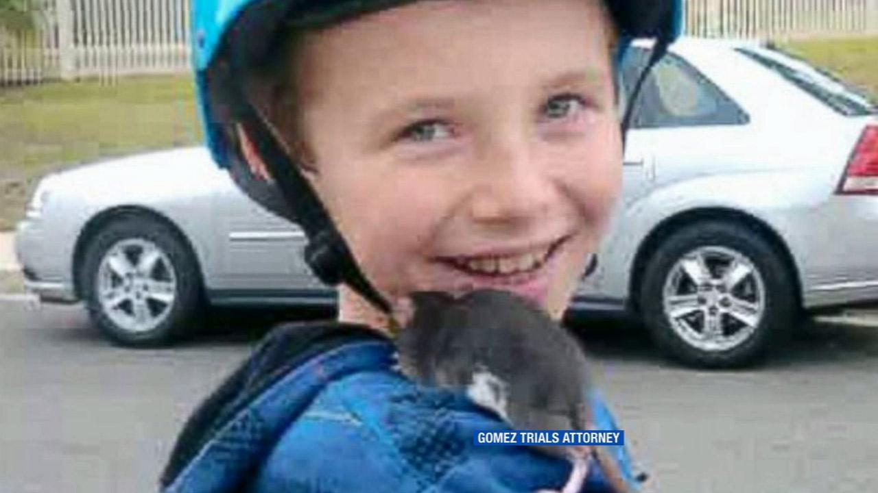 Aidan Pankey, 10, is shown in this undated file photo.