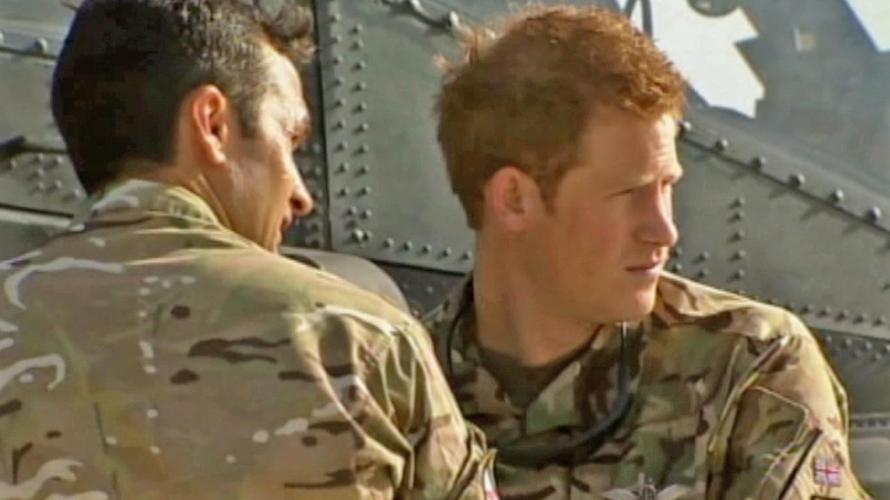 Prince Harry is shown in this undated file photo.