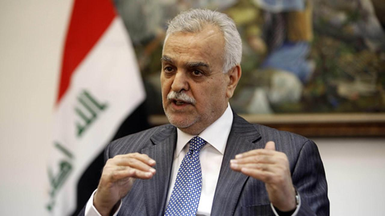 In this Friday, Dec. 23, 2011 file photo, Iraqs Sunni Vice President Tariq al-Hashemi speaks during an interview with the Associated Press near Sulaimaniyah, 160 miles (260 kilometers) northeast of Baghdad, Iraq.