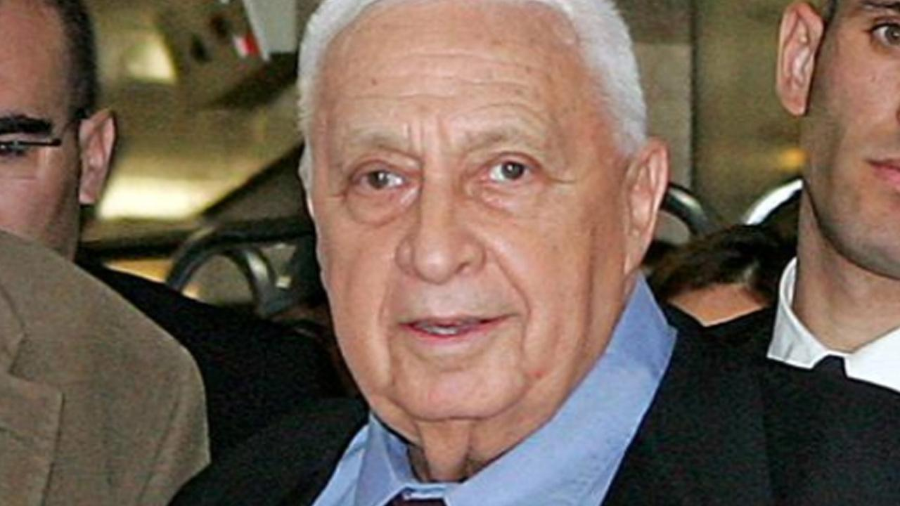 Fformer Israeli Prime Minister Ariel Sharon is seen in this undated file photo.