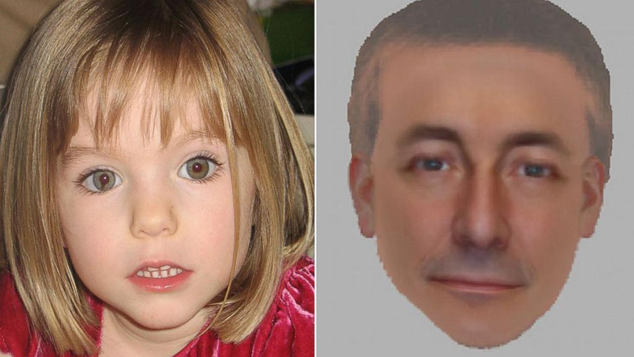 UK police have released two composite drawings of a man they want to question in connection with the disappearance of Madeleine McCann.