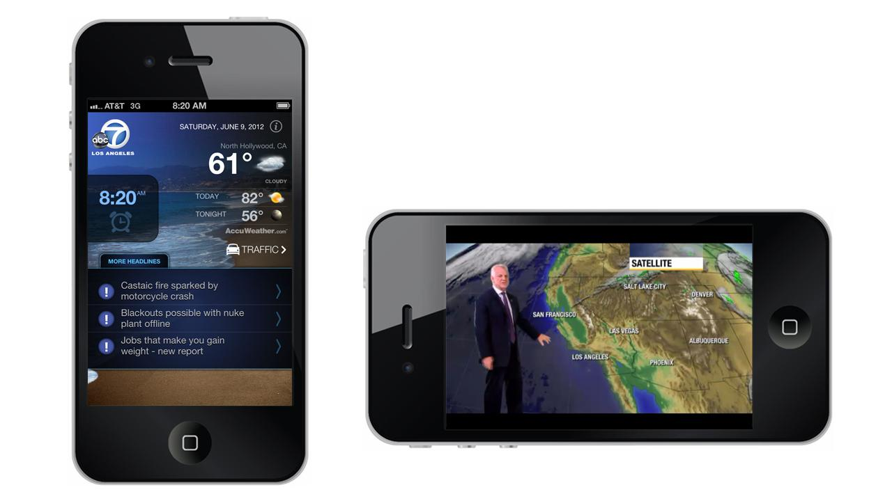 The ABC7 Alarm Clock App for the iPhone and iPod Touch is now available in the App Store.