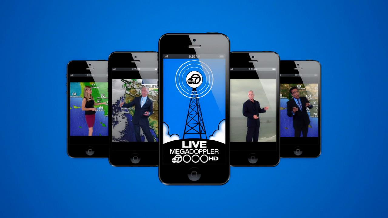 ABC7 has a brand new app to help you get your weather on the go.