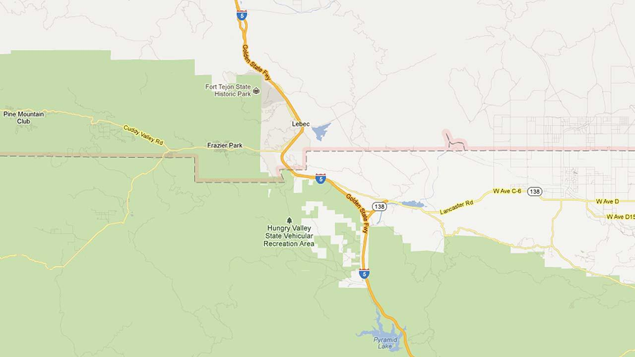 I-5 Grapevine lanes closed at Kern County line for week