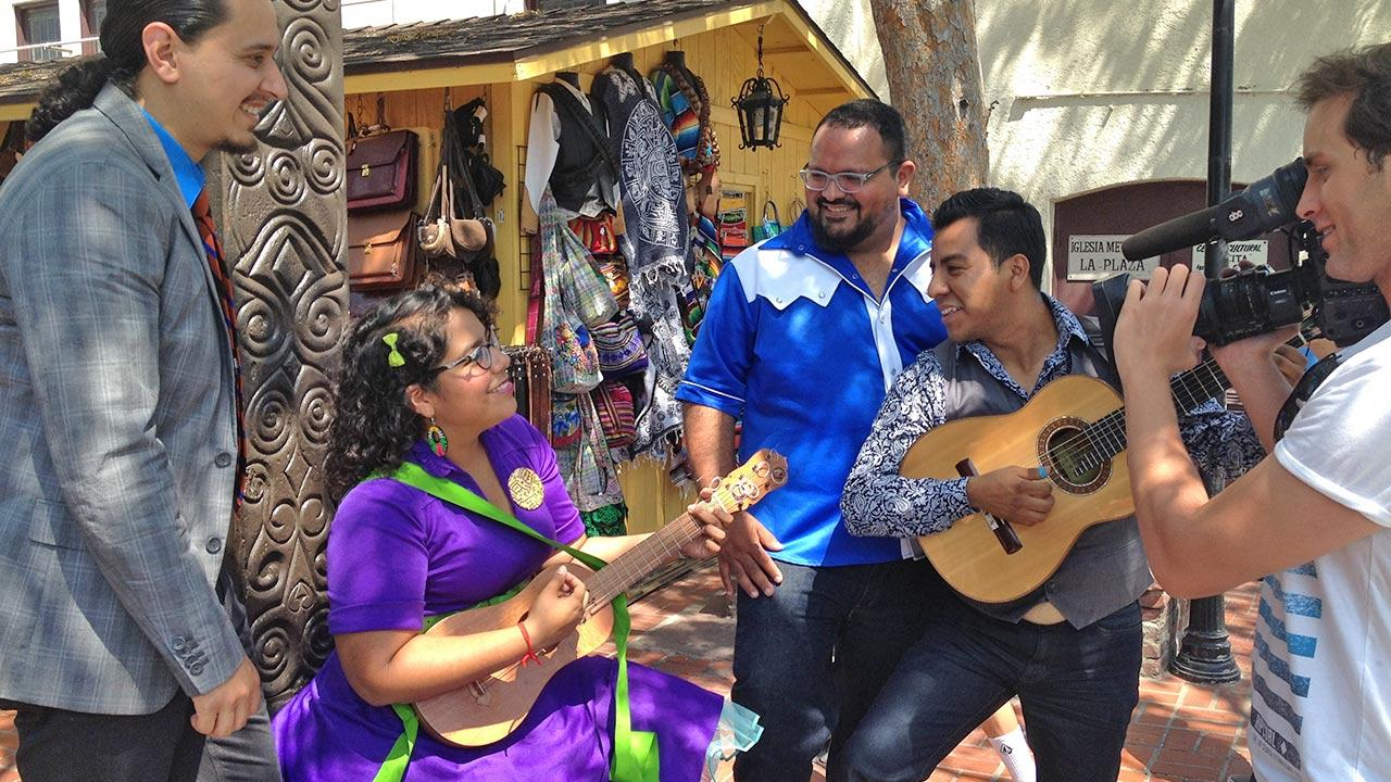 La Santa Cecilia performs on an episode of Eye on L.A. that aired on Sunday, June 9, 2013.