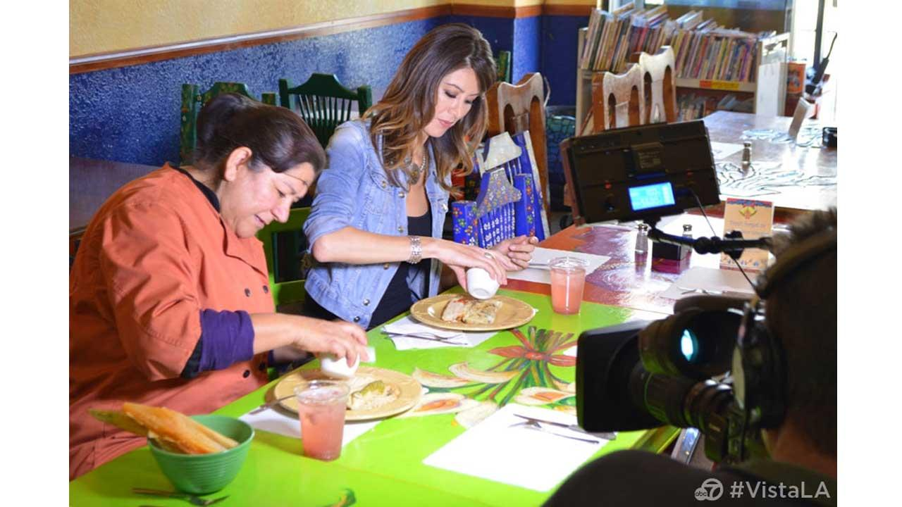 A scene from Vista L.A.s tamales episode