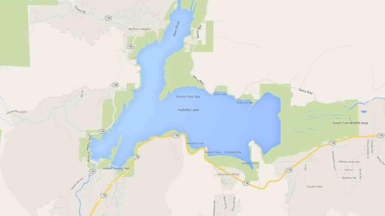 An earthquake with a preliminary magnitude of 4.3 struck Lake Isabella in Kern County Saturday, April 19, 2014.