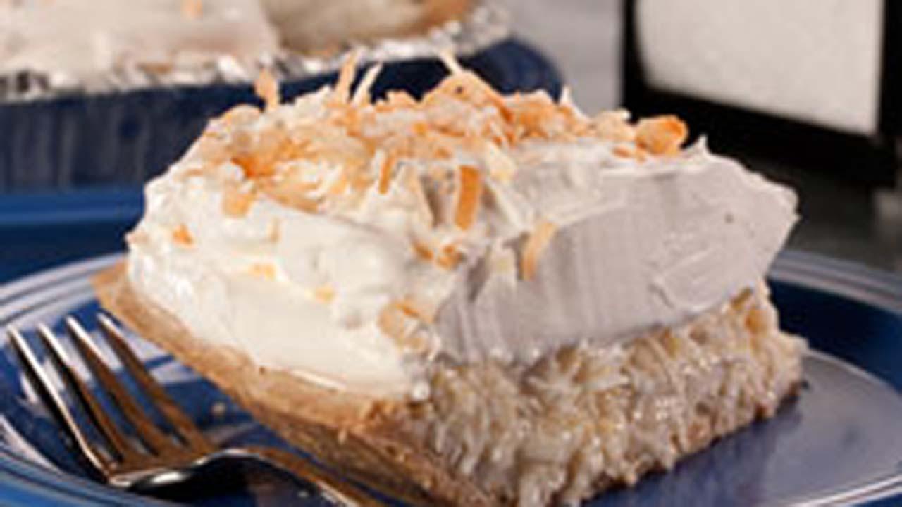Automat-Style Coconut Cream Pie