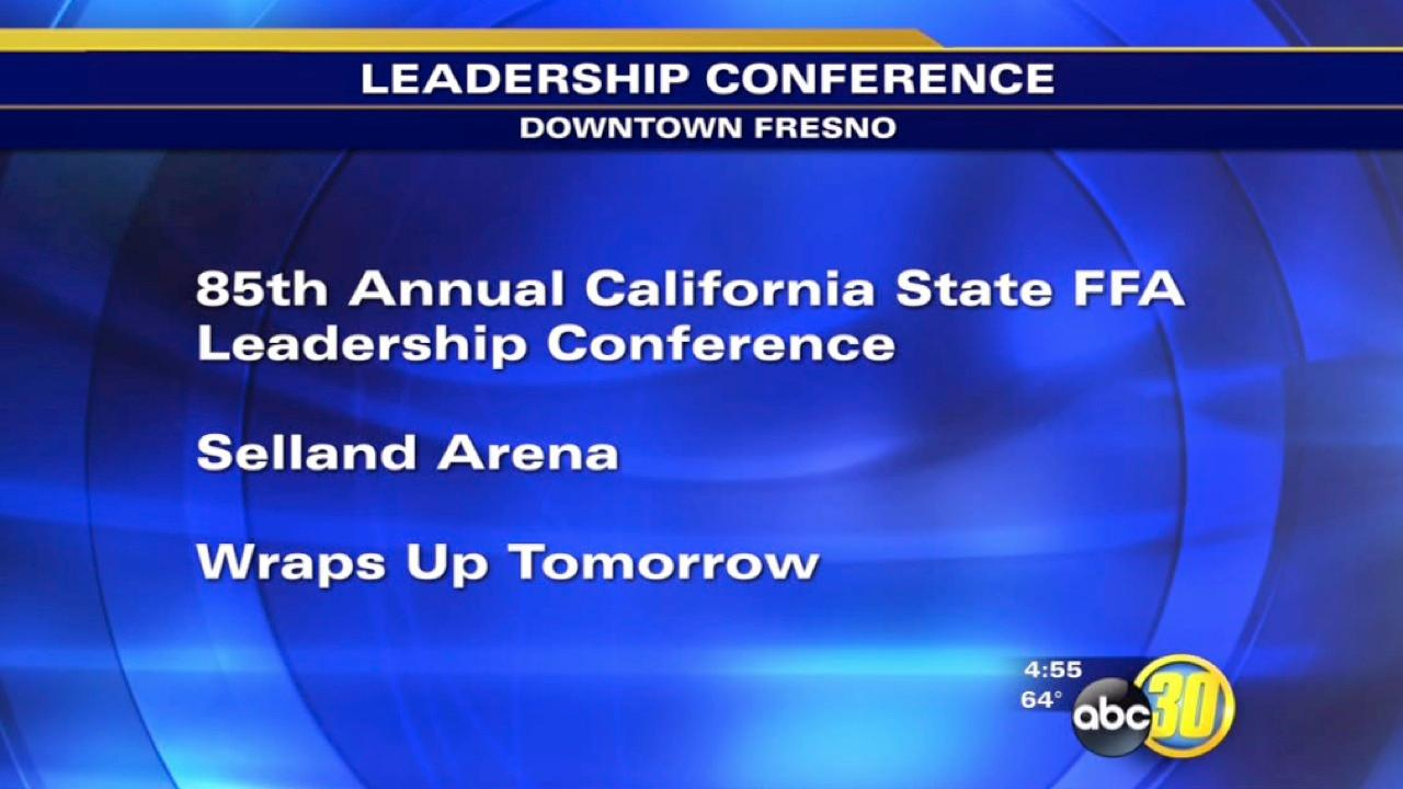 FFA Leadership Conference in Downtown Fresno