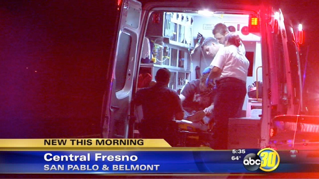 Man injured in Central Fresno stabbing